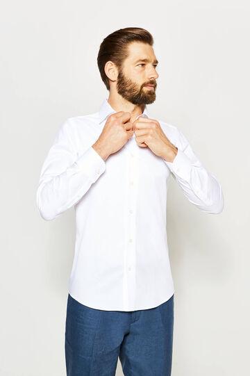 Camicia formale slim fit tinta unita