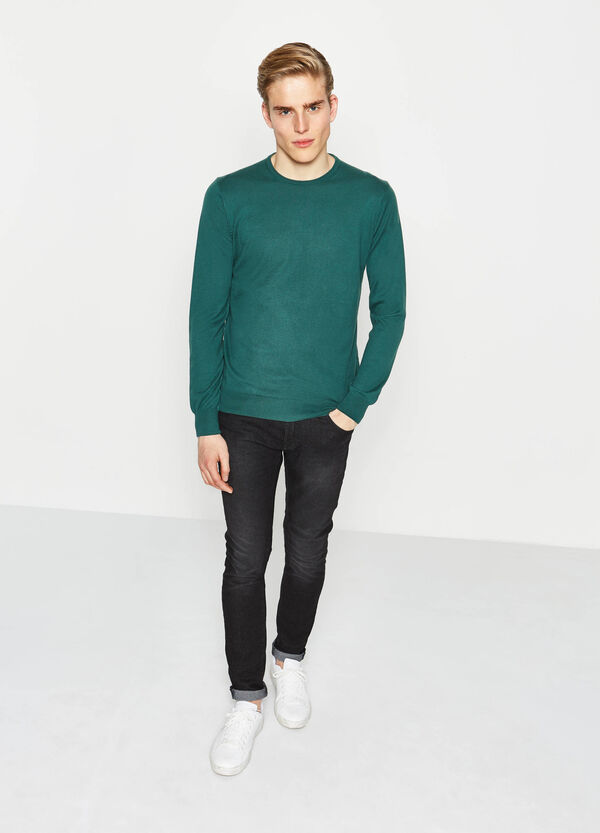 100% cotton crew-neck pullover | OVS
