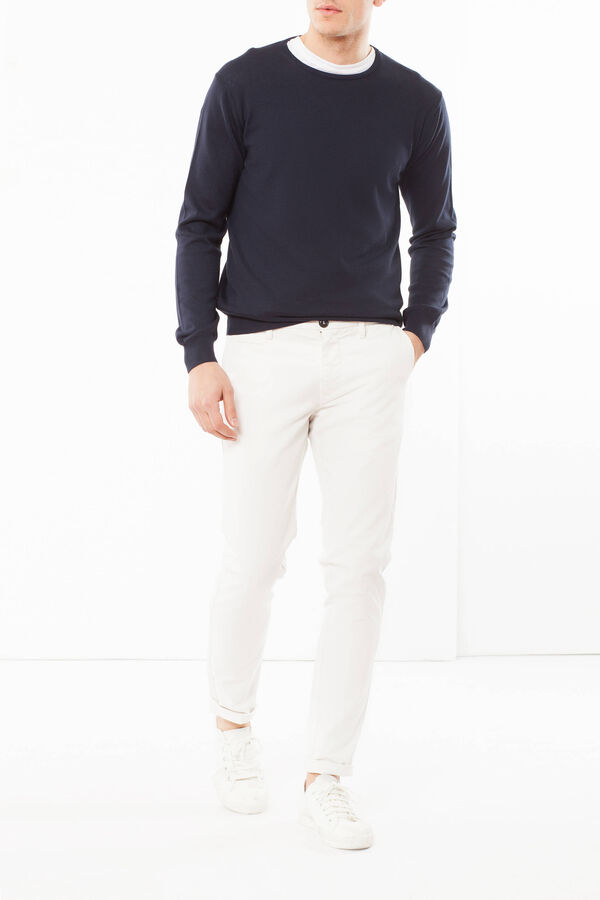 Five-pocket premium chinos | OVS