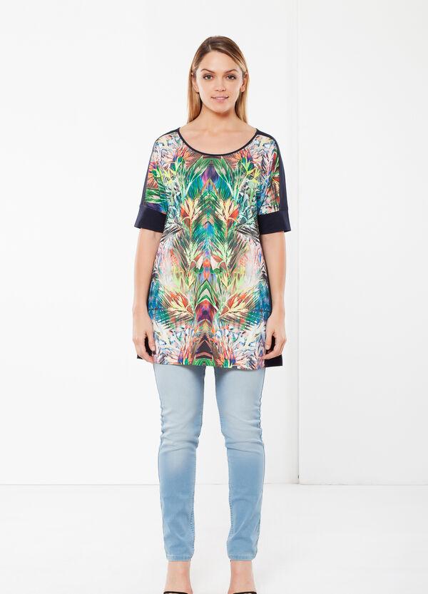Short sleeve Curvy T-shirt | OVS