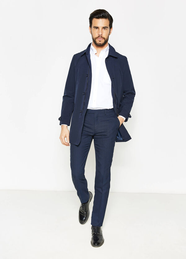 100% stretch cotton coat | OVS
