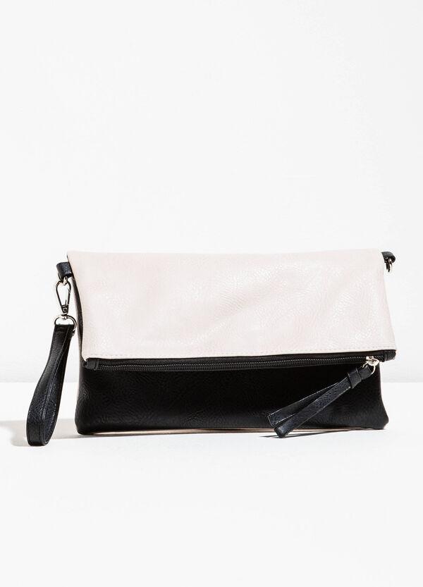 Two-colour bag with detachable shoulder strap | OVS