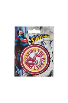 Superman iron-on patch, Multicolour, hi-res