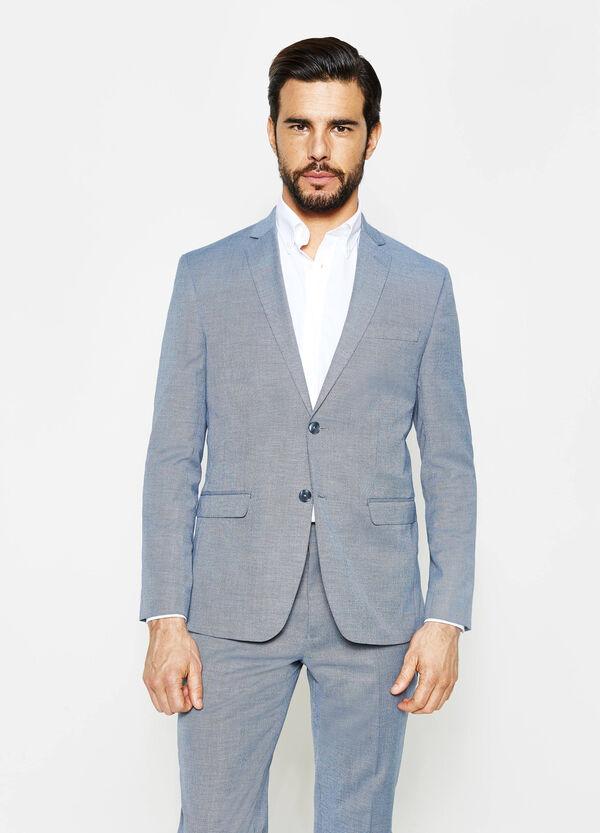 Regular-fit suit in stretch viscose | OVS