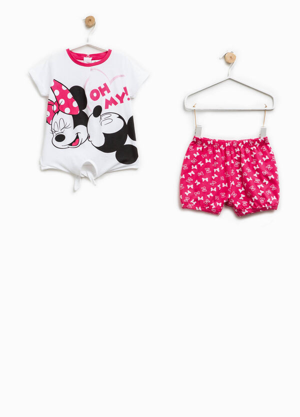 Cotton Minnie Mouse pattern pyjamas | OVS