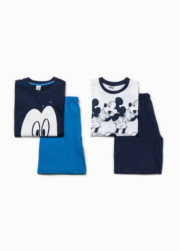 Set of two 100% Biocotton printed pyjamas | OVS
