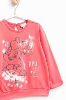 Baby Looney Tunes cotton outfit, Coral Pink, hi-res