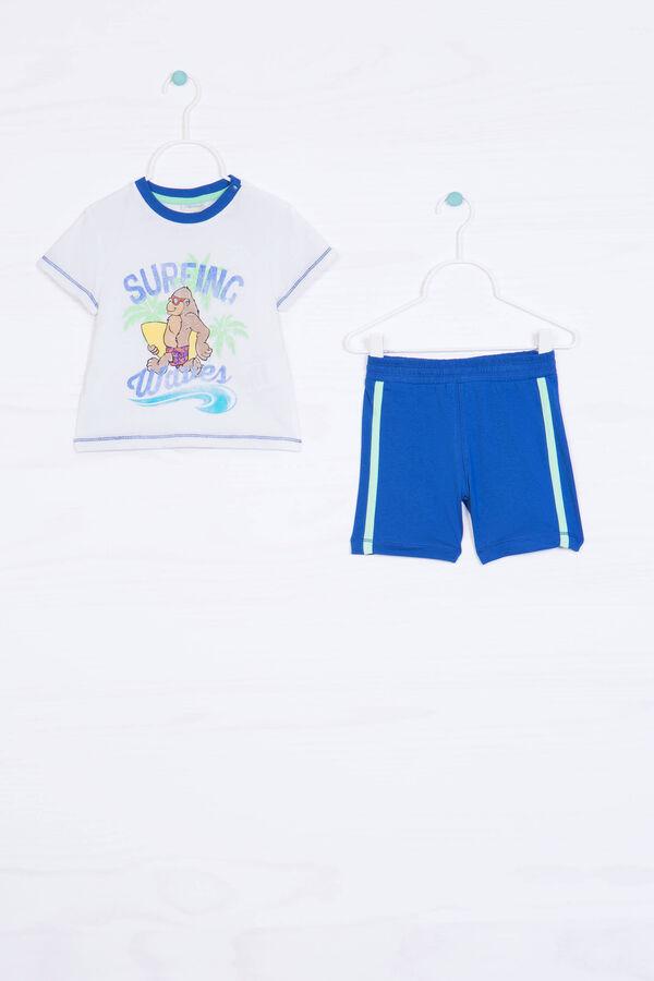 Solid colour 100% cotton set | OVS
