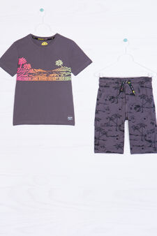 Shorts outfit by Maui and Sons, Slate Grey, hi-res