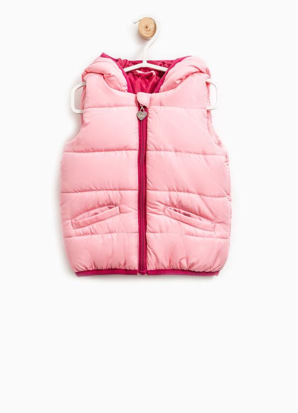 Padded waistcoat with zip | OVS