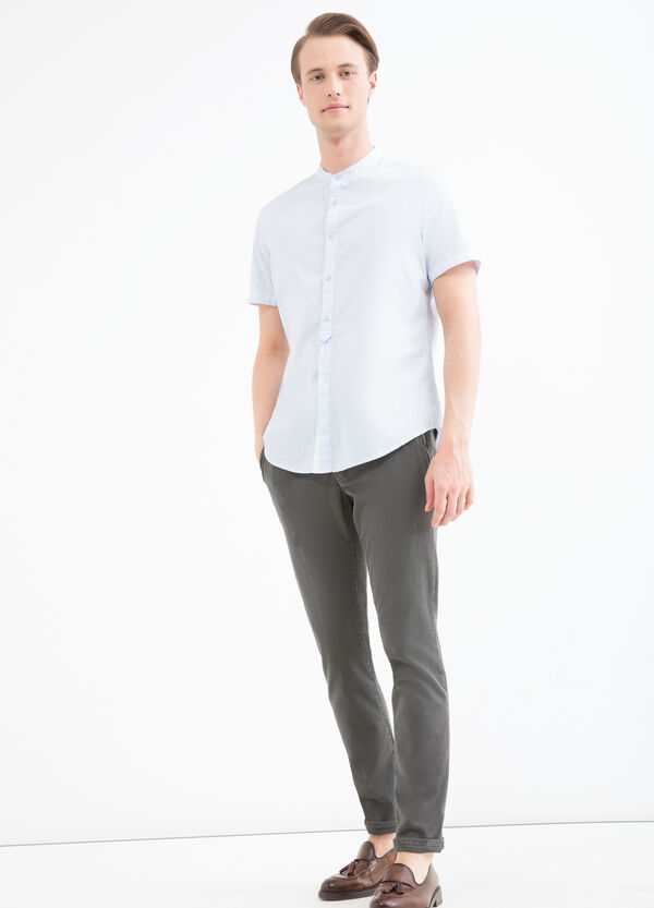 Camicia collo coreana slim fit | OVS