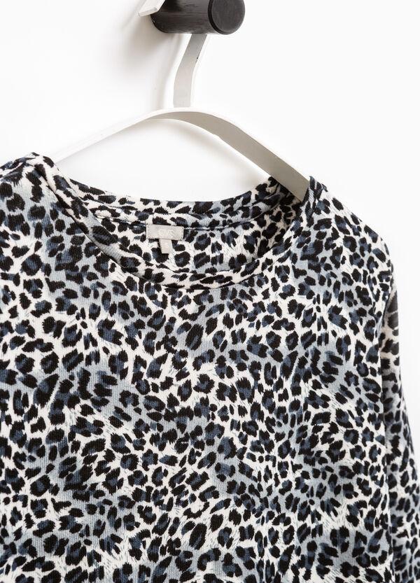 Smart Basic patterned stretch dress | OVS