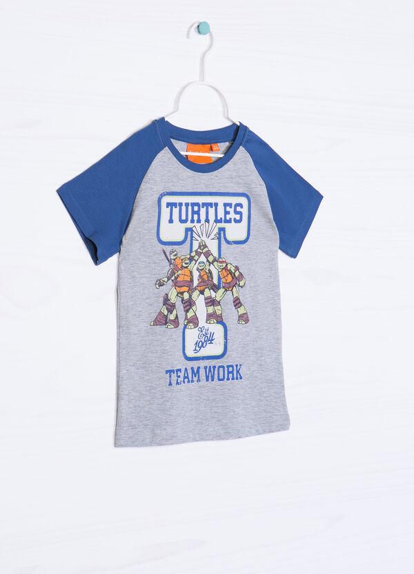 Teenage Mutant Ninja Turtle T-shirt in 100% cotton | OVS