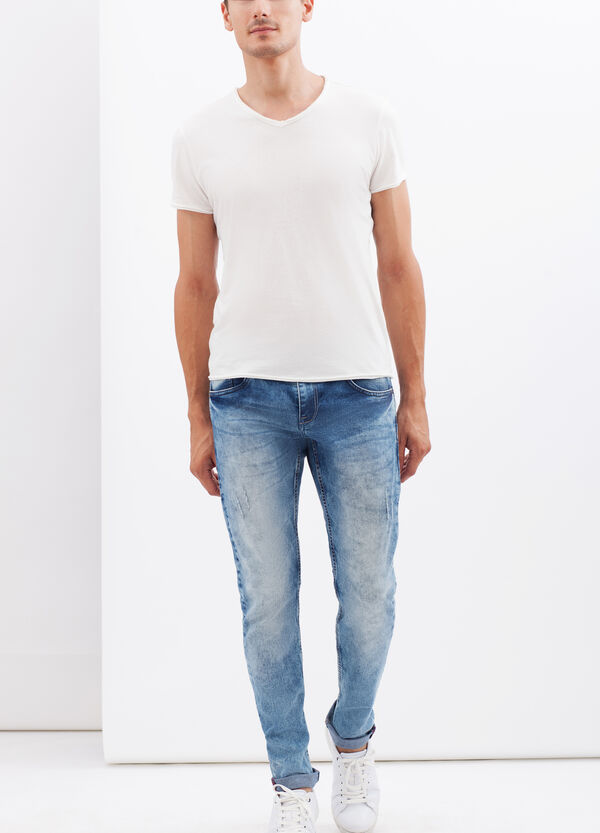 Slim fit stretch jeans | OVS