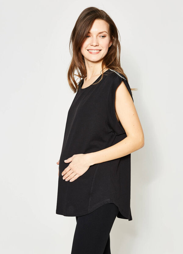 MUM T-shirt with cap sleeves | OVS