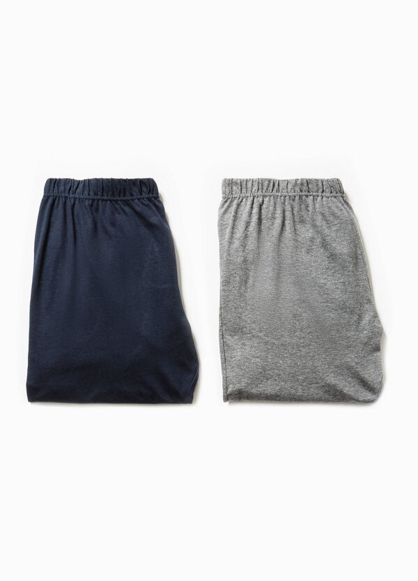 Set due pantaloni pigiama in jersey | OVS