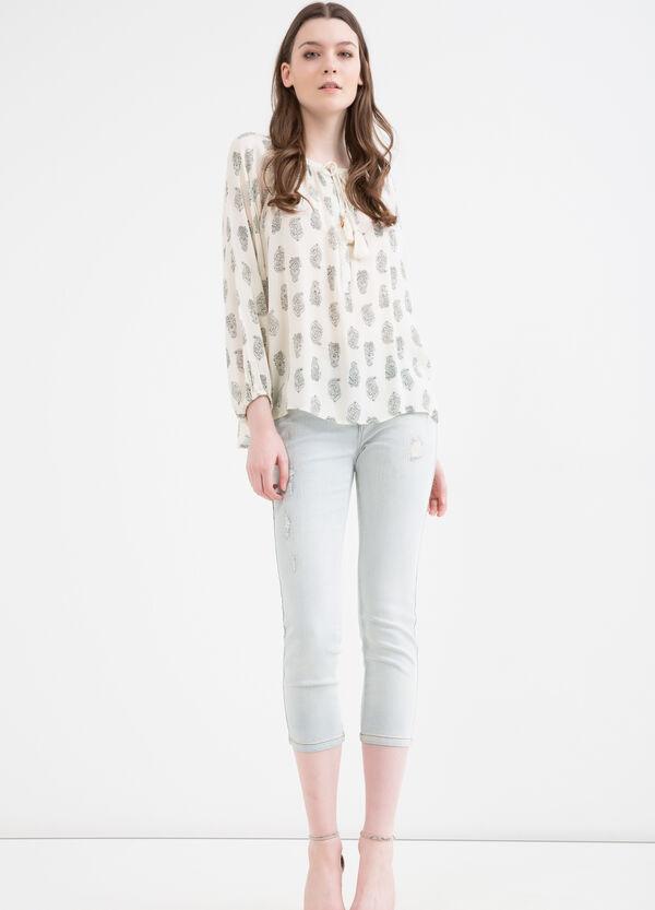 Jeans skinny fit stretch abrasioni | OVS