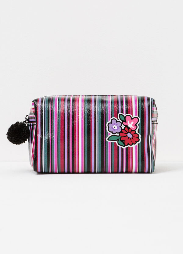 Case with zip and pompom | OVS