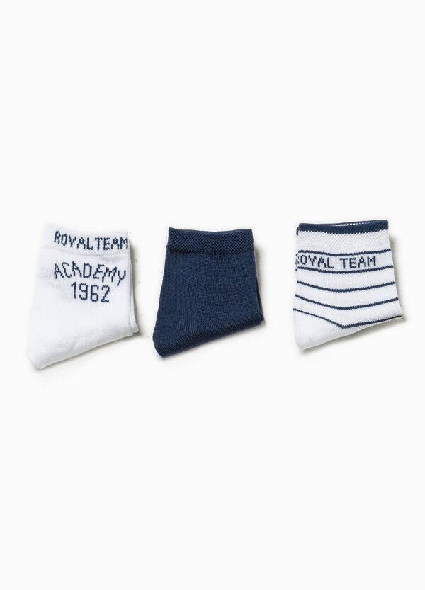 Set tre paia di calze con ricami | OVS