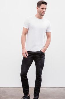Skinny fit stretch jeans, Dark Wash, hi-res