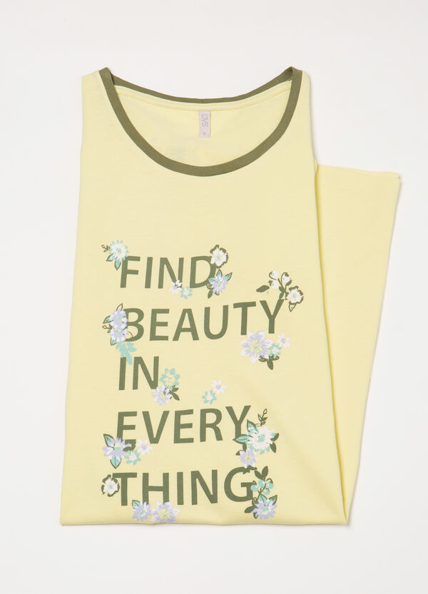 Nightdress with lettering print | OVS