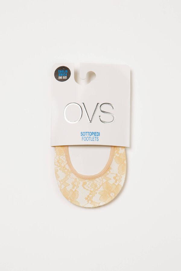 Calze salvapiede stretch pizzo | OVS