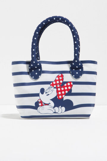 Minnie Mouse handbag with stripes and polka dots