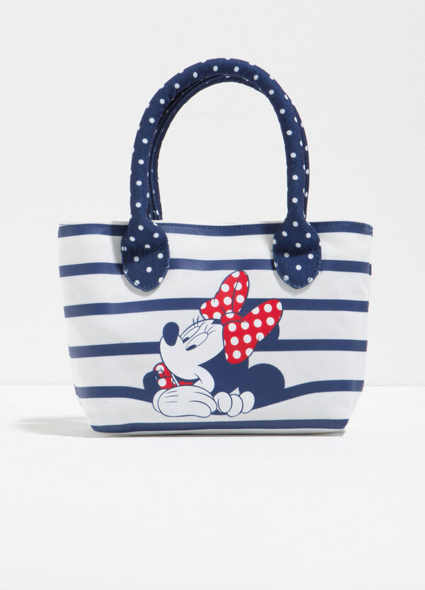 Minnie Mouse handbag with stripes and polka dots | OVS