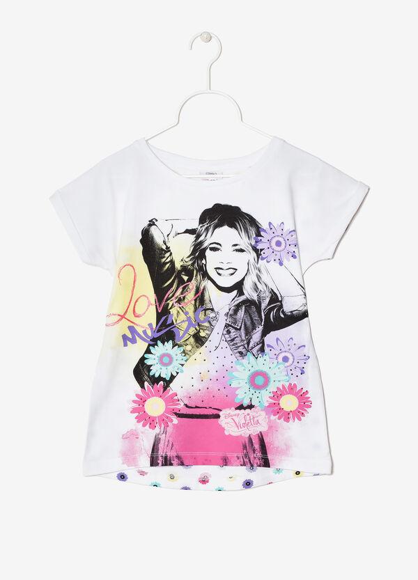 T-shirt stretch Violetta | OVS
