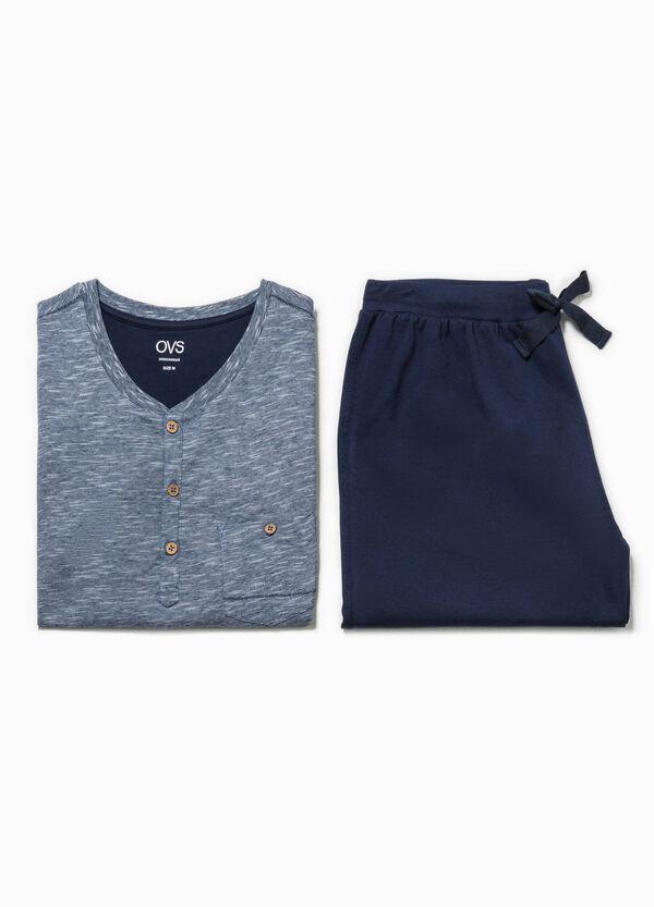 Pijama de manga corta con cuello redondo | OVS