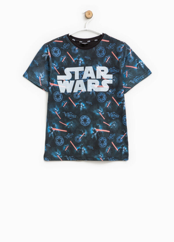 T-shirt with Star Wars pattern and print | OVS