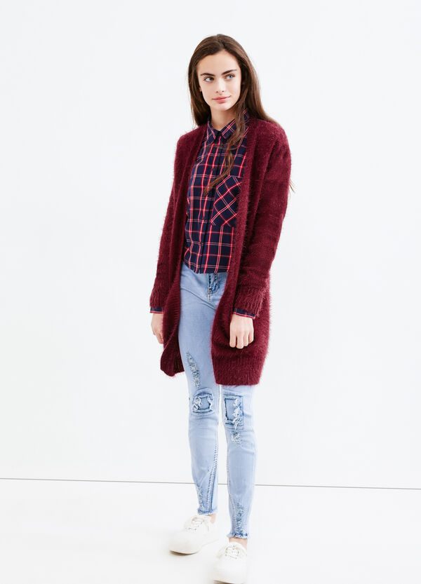 Teen cardigan with buttonless opening | OVS