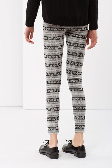 Fantasy leggings, White/Black, hi-res