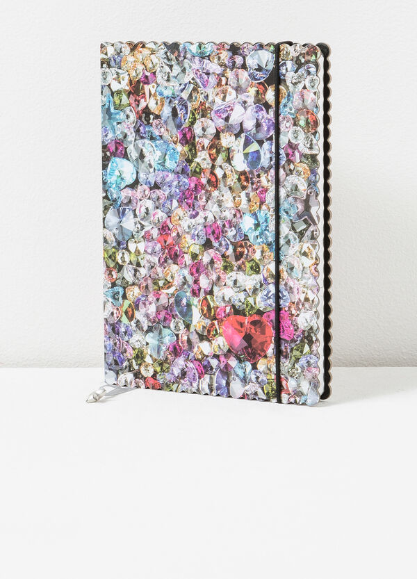Diary with elastic and star charm   OVS