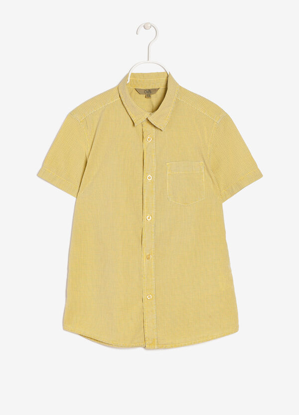 Shirt with breast pocket | OVS