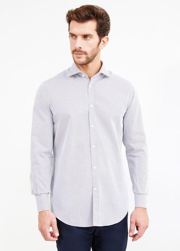 Camicia formale regular fit cotone fantasia | OVS