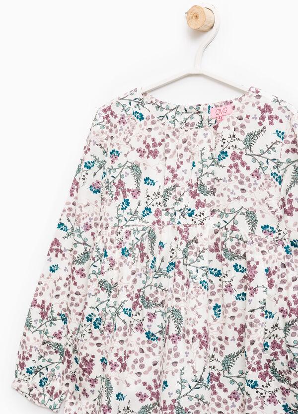 100% viscose floral shirt | OVS
