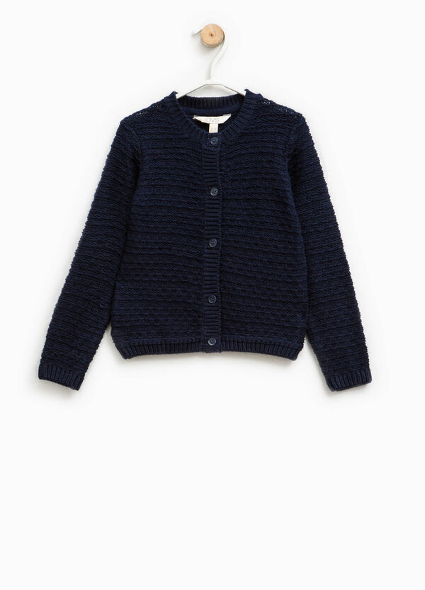 Knitted cotton cardigan | OVS