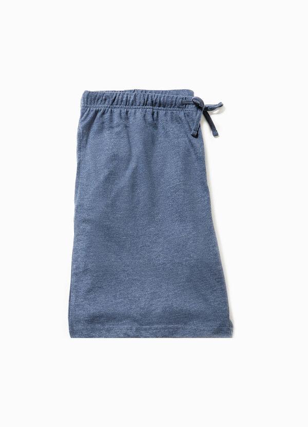 Pantalón corto de pijama en algodón 100% | OVS