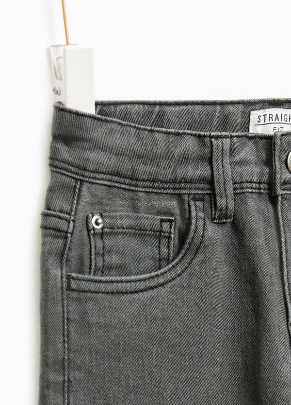 Straight-fit stretch jeans | OVS