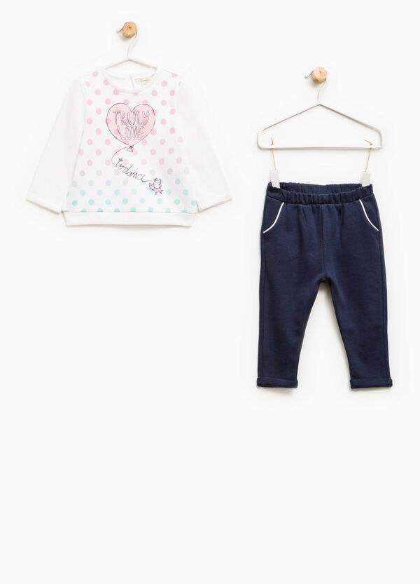 Printed outfit in 100% cotton | OVS