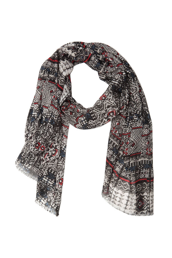 Patterned scarf | OVS