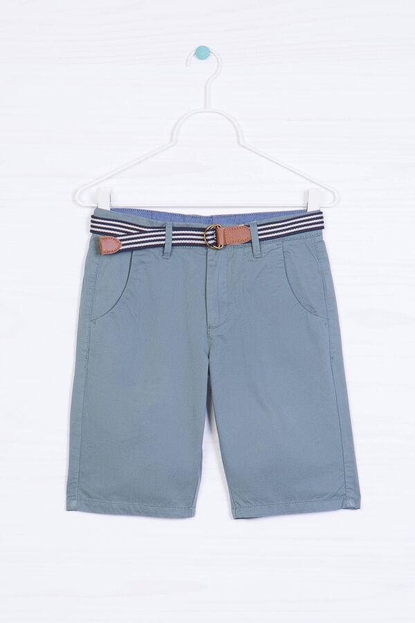 Bermuda puro cotone con cintura | OVS