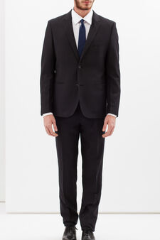 Elegant suit with extra-slim custom fit, Grey, hi-res
