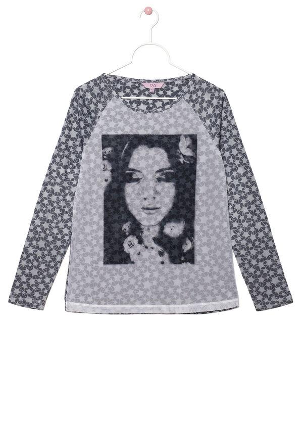Printed jersey T-shirt | OVS