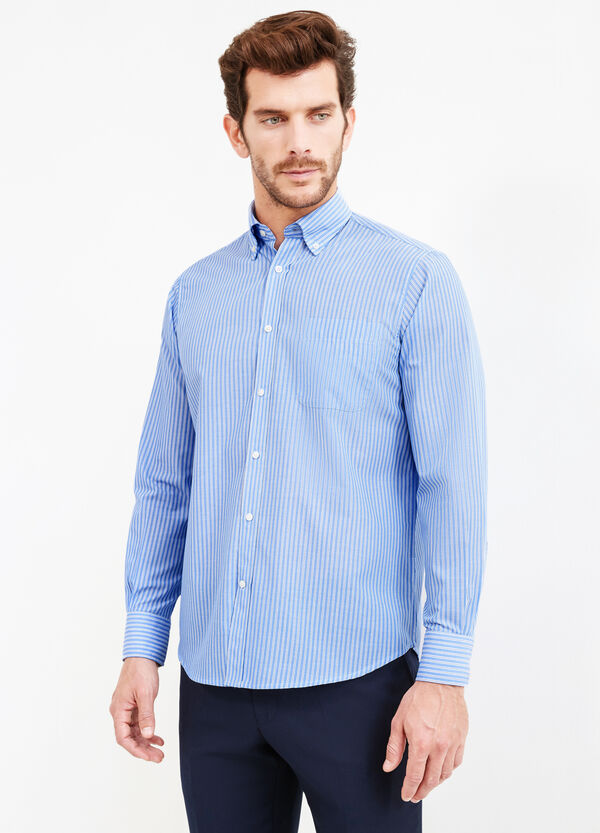 Camicia formale a righe regular fit | OVS