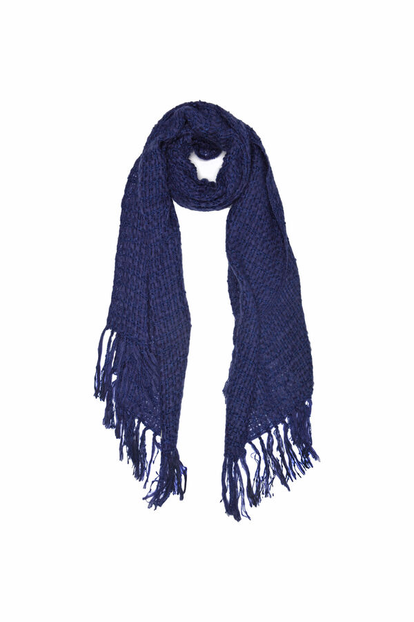 Knitted scarf with tassels | OVS