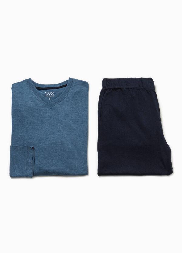 Solid colour 100% cotton pyjamas | OVS
