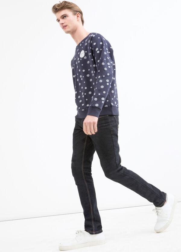 100% cotton sweatshirt with G&H print | OVS