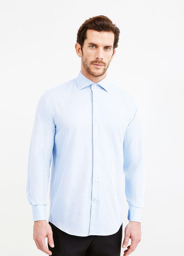 Camicia formale regular fit micro fantasia | OVS